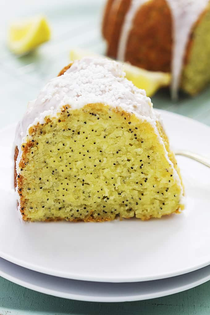 Lemon Poppy Seed Bundt Cake Recipe From Scratch