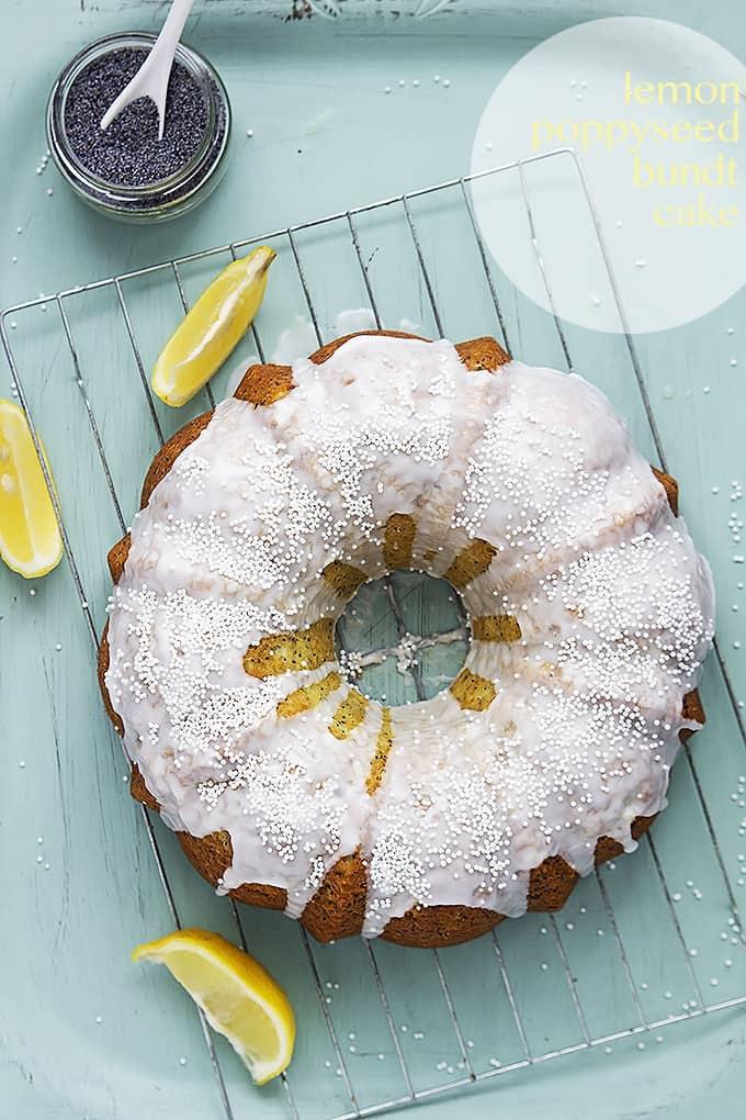 Lemon Poppyseed Bundt Cake | Creme de la Crumb