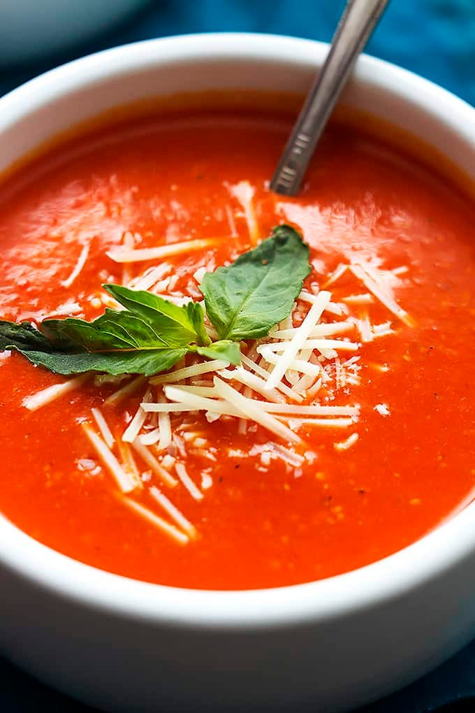 Roasted Red Pepper Soup Recipe — Dishmaps