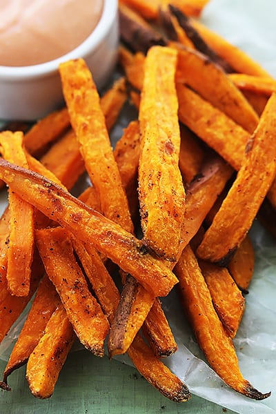 sweet potato sticks potato fries oven baked sweet potato fries baked ...