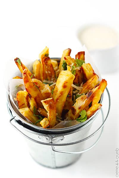 Baked Garlic Fries