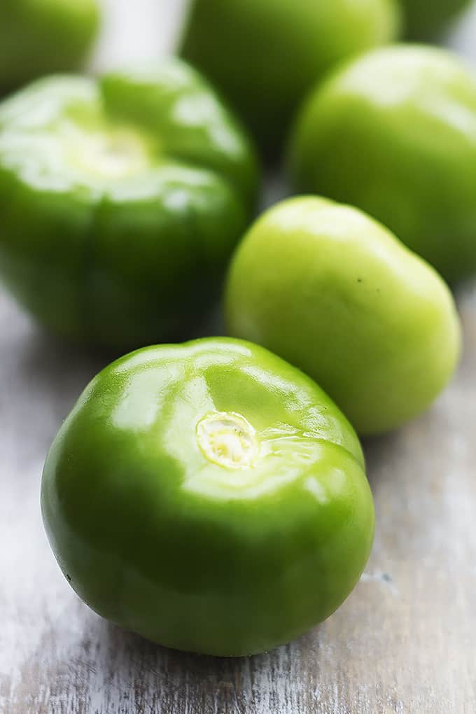 Tomatillo Avocado Salsa | Creme de la Crumb