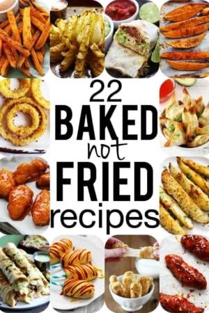 22 Baked-NOT-FRIED Comfort Food Favorites!