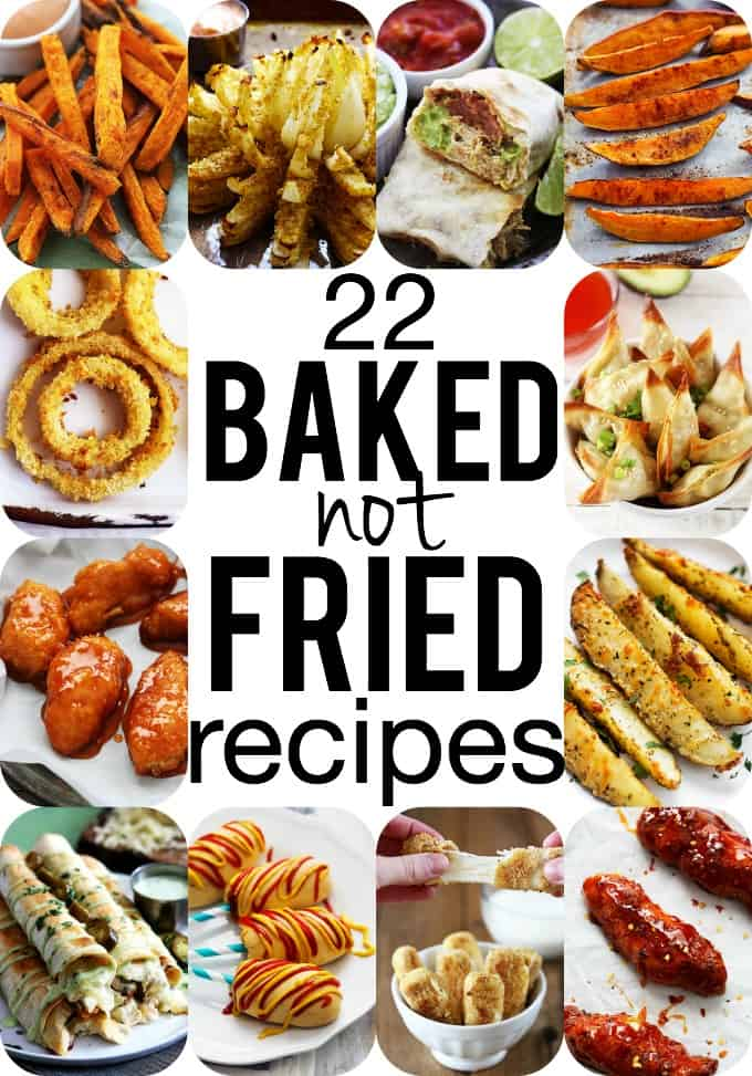 22 Baked-NOT-FRIED Comfort Food Favorites!