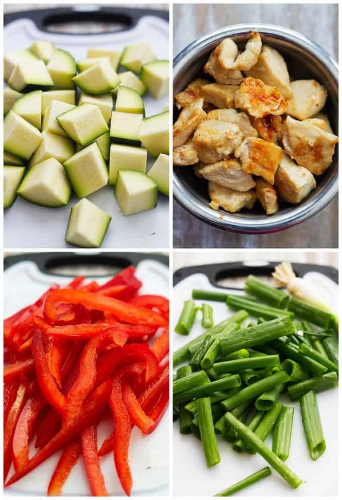 Chicken Lo Mein | Creme de la Crumb