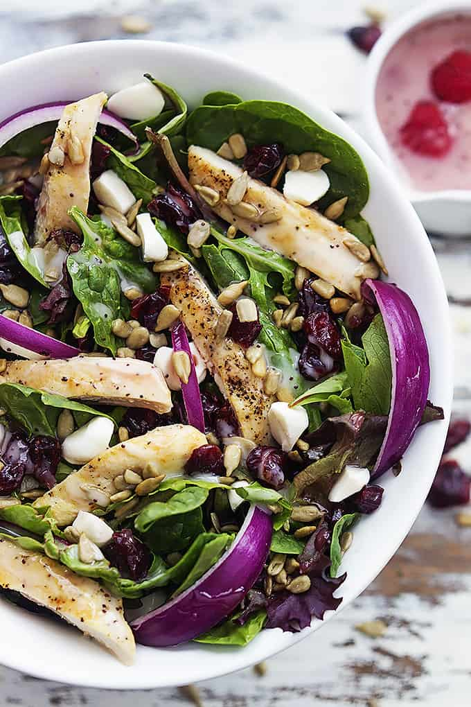 Kneader's Cranberry Sunflower Salad | Creme de la Crumb