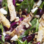 Kneader's Cranberry Sunflower Salad   Creme de la Crumb