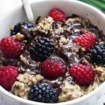 Choco-Berry Oatmeal