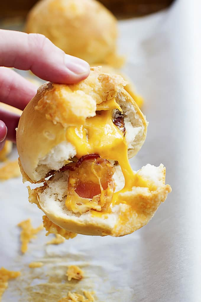 Cheddar Bacon Bombs