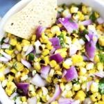 Grilled Corn Salsa   Creme de la Crumb