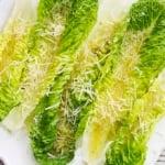 Romaine Finger Salad | Creme de la Crumb