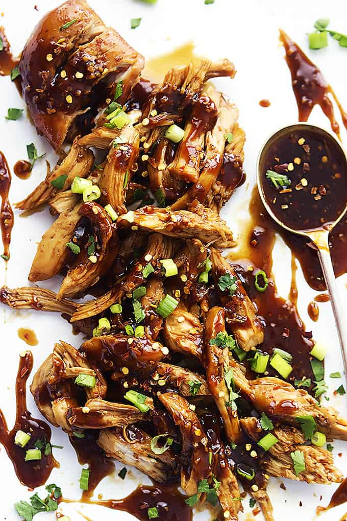 Asian honey garlic sauce
