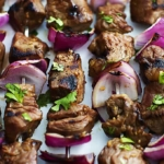 Grilled Steakhouse Kabobs | Creme de la Crumb
