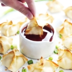 Baked Cream Cheese Wontons (A.K.A. cream cheese rangoon)