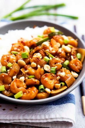 Kung Pao Shrimp | Creme de la Crumb