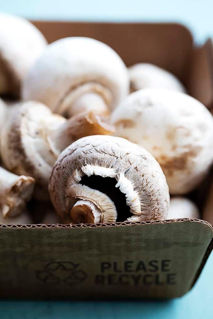 Mushroom Swiss Burgers | Creme de la Crumb