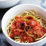 Fire Roasted Tomato Pasta Sauce | Creme de la Crumb