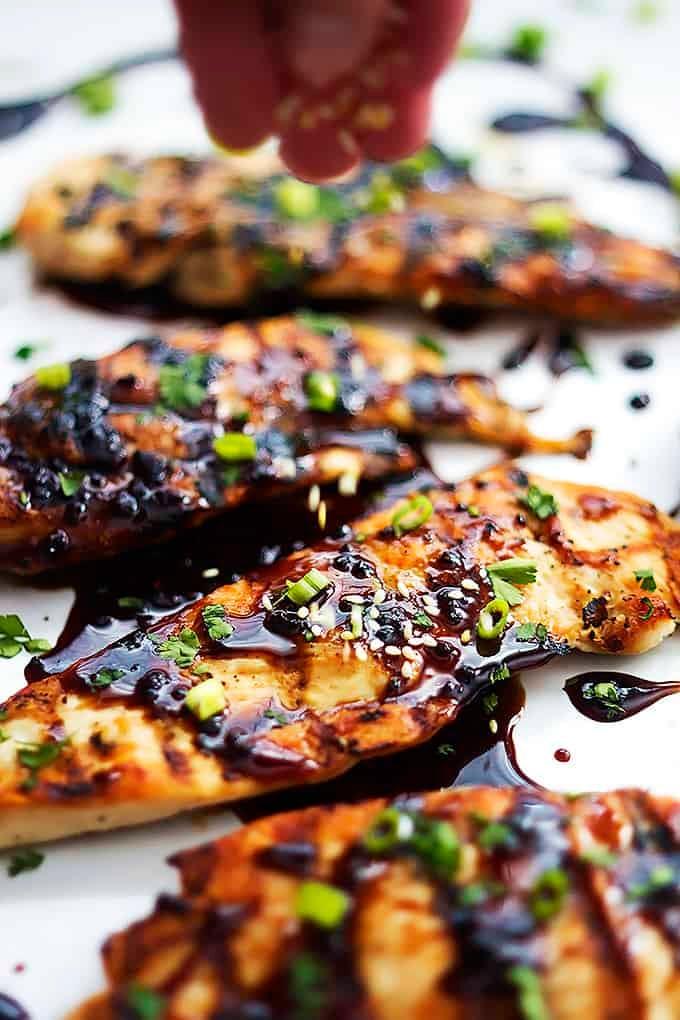 Sticky Asian Grilled Chicken   Creme de la Crumb