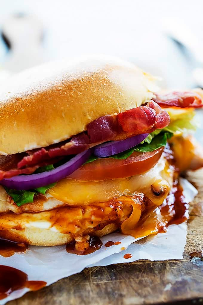 Monterey Chicken Sandwiches | Creme de la Crumb