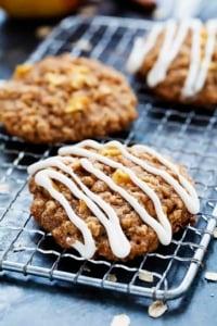 Apple Oatmeal Cookies   Creme de la Crumb