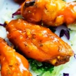 Spicy Honey Lime Chicken Wings