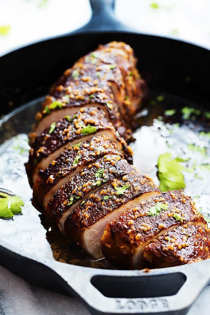 Island Glazed Pork Tenderloin | Creme de la Crumb