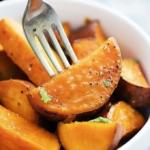 Candied Maple Sweet Potatoes   Creme de la Crumb