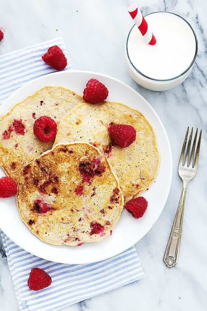 Cottage Cheese Pancakes | Creme de la crumb