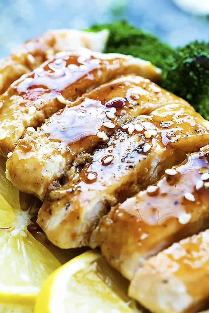 Lemon Teriyaki Chicken   Creme de la Crumb