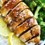 Lemon Teriyaki Chicken | Creme de la Crumb