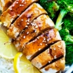 Lemon Teriyaki Chicken