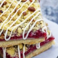 Raspberry Crumb Pie Bars | Creme de la Crumb