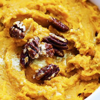 Slow Cooker Mashed Sweet Potatoes | Creme de la Crumb