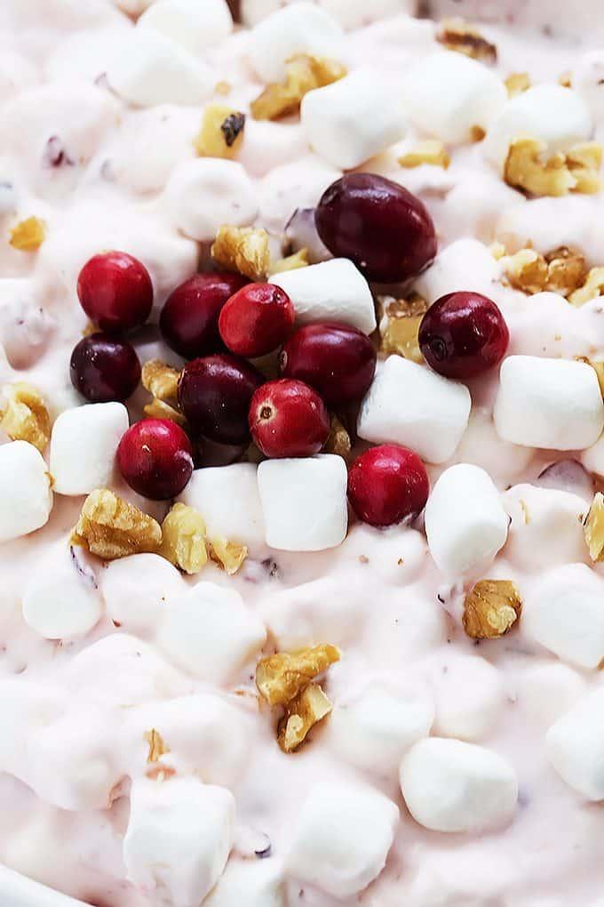 Cranberry Salad | Creme de la Crumb