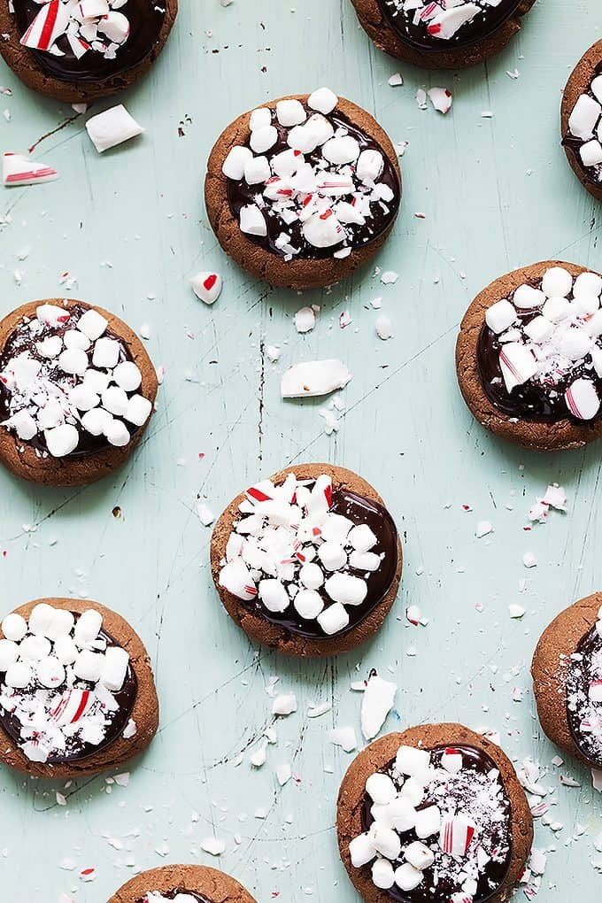 Hot Chocolate Meltaway Cookies | Creme de la Crumb