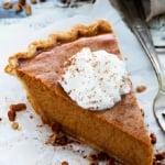 Easy Homemade Pumpkin Pie | Creme de la Crumb
