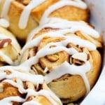 Flaky Almond Cinnamon Buns   Creme de la Crumb