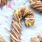 Cinnamon Sugar Candy Cane Bread Twists | Creme de la Crumb