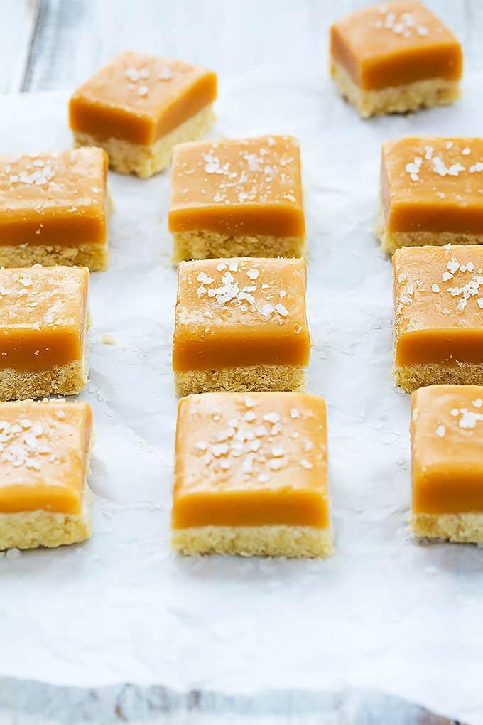 Salted Caramel Shortbread | Creme de la Crumb