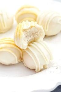 Eggnog Truffles | Creme de la Crumb