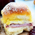 Baked Monte Cristo Party Sliders