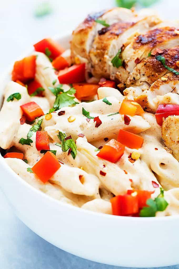 Chili's Cajun Alfredo Pasta | Creme de la Crumb