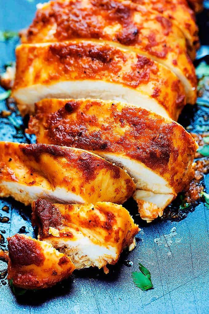 Baked Chipotle Chicken Creme De La Crumb