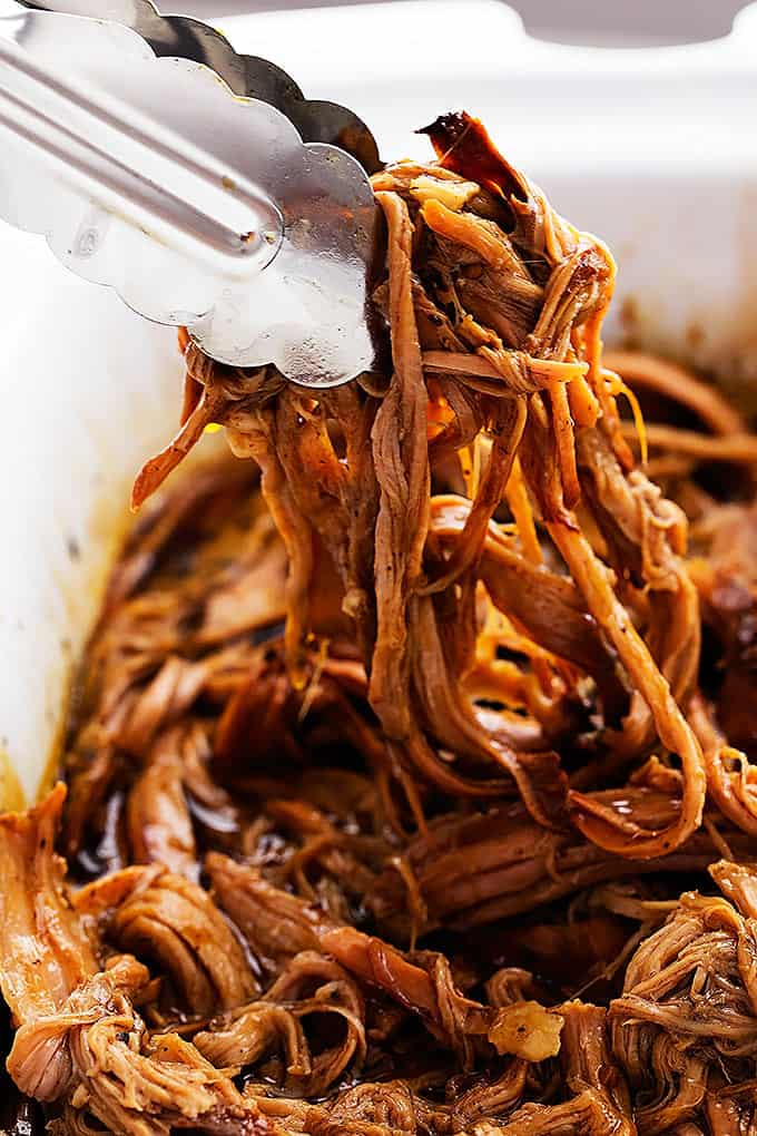 Slow Cooker Honey Balsamic Pork Tenderloin | Creme de la Crumb