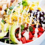 Southwest Chicken Salad | Creme de la Crumb