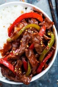 20 Minute Beijing Beef | Creme de la Crumb
