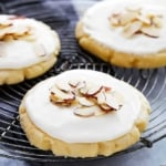Almond Sugar Cookies   Creme de la Crumb