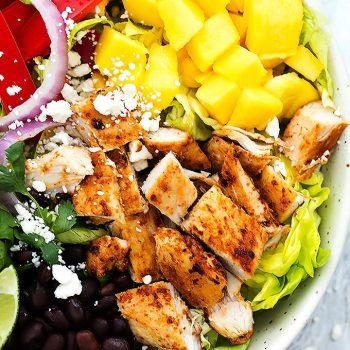 Mango Chipotle Chicken Salad | Creme de la Crumb