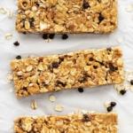 No Bake Chewy Granola Bars | Creme de la Crumb