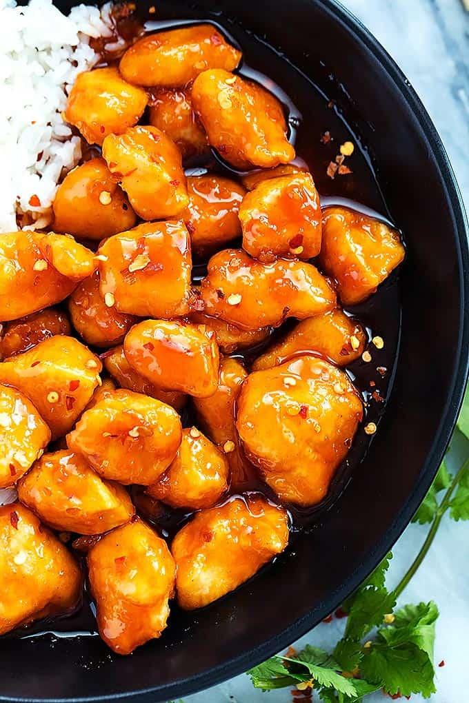 Slow Cooker Firecracker Chicken   Creme de la Crumb